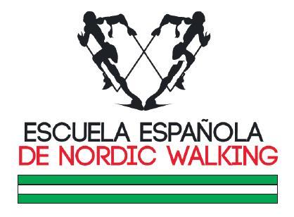 logotipo delegación nordic walking de Andalucia