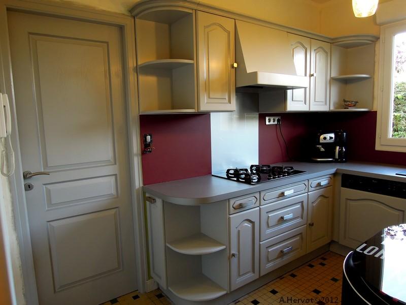 Exceptionnel Cuisine Gris Perle Et Rouge – Chaios.com VJ86