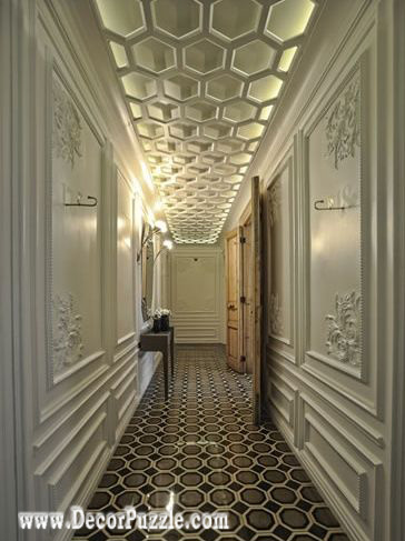 Ceiling Design Ideas 5 trendy contemporary false ceiling design ideas Autoban Ceiling Design Ideas For Hallway