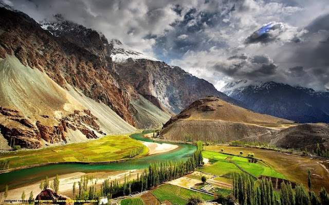 beautiful nature scenery pakistan most beautiful places in thephander, ghizer valley, gb