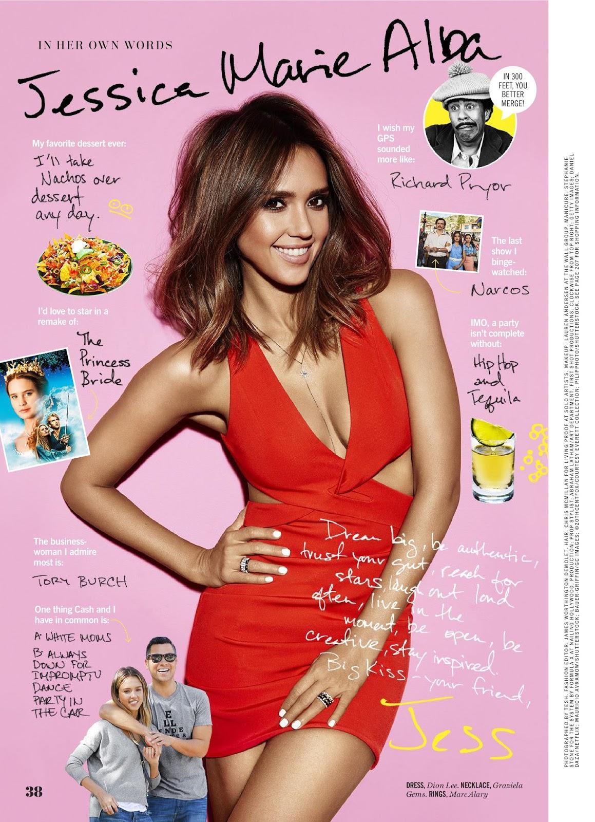actress model jessica alba cosmopolitan magazine