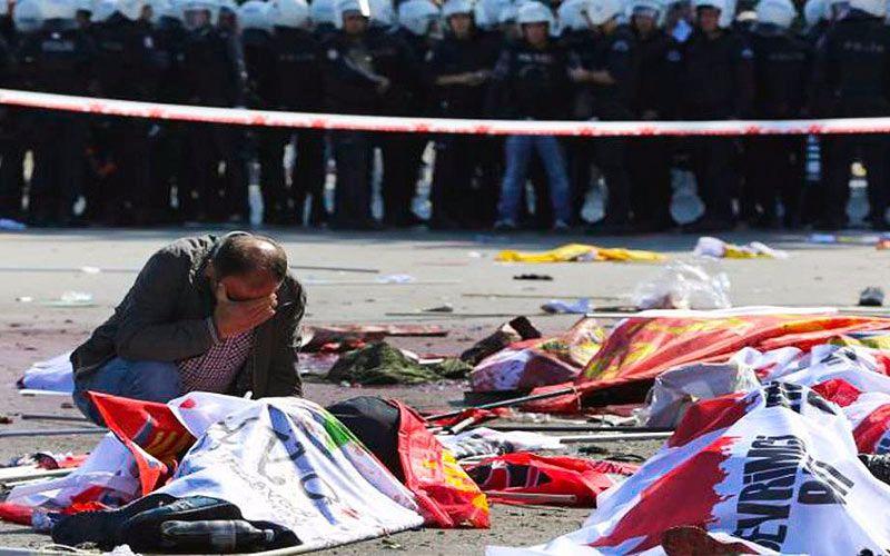 95 Muertos En Ankara, El Peor Atentado De La Historia Turca
