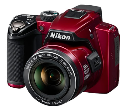 Nikon Coolpix P500 Red