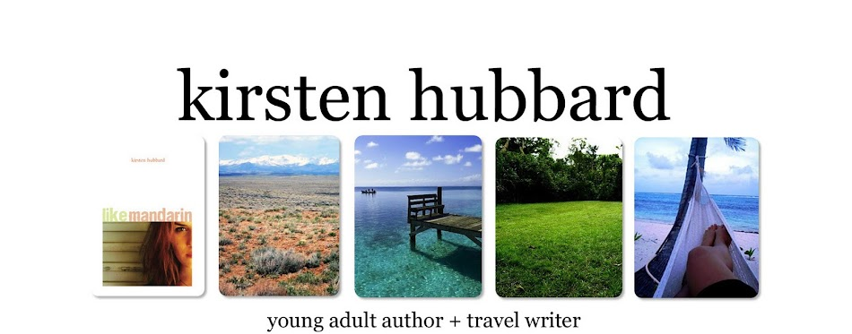 Kirsten Hubbard: YA Author + Travel Writer