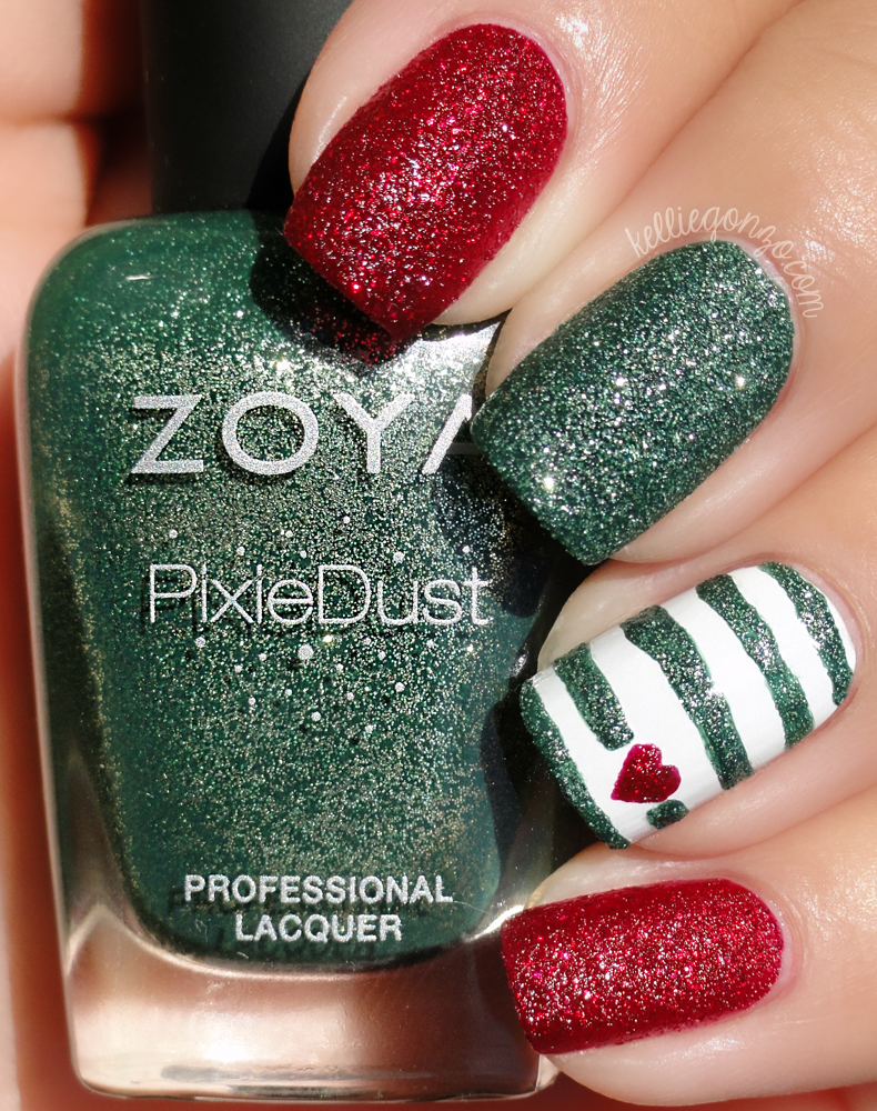 Kellie Gonzo: Holiday Nail Art