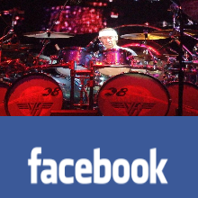 Alex Van Halen Facebook Site Official