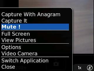 Cara Menghilangkan Suara Kamera BlackBerry Saat Mengambil Foto