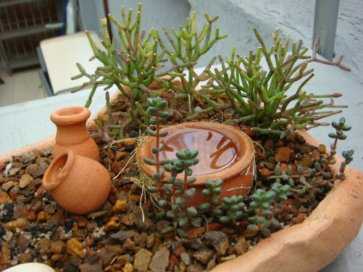 artesanato mini jardim:Mini Jarritos De Ceramica