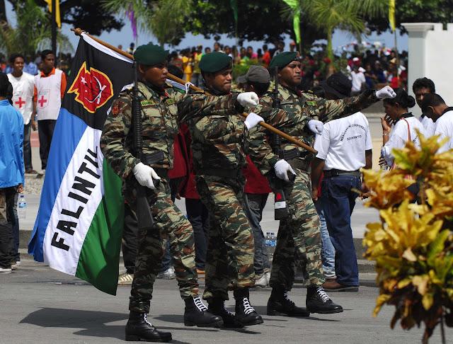 Timor-Leste: CERIMÓNIA DE DESMOBILIZAÇÃO DA FALINTIL