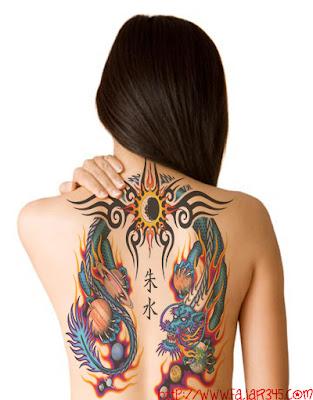 Cara memasang tattoo dengan photoshop