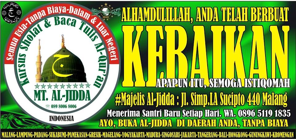 Majelis Taklim Al-Jidda untuk Kursus Sholat & Baca Tulis Tahfidz Al-Quran