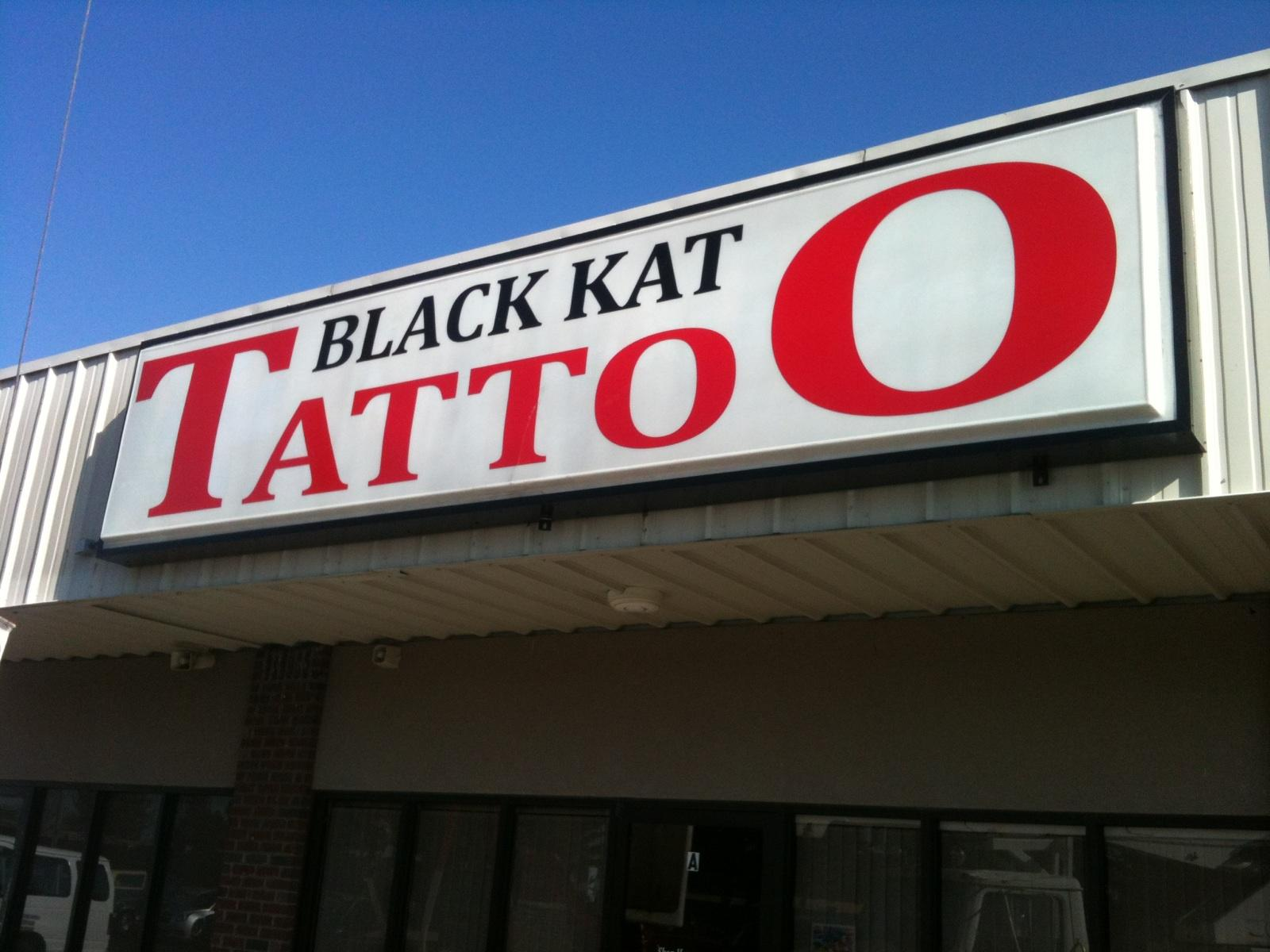 Black kat tattoo for Black kat tattoo