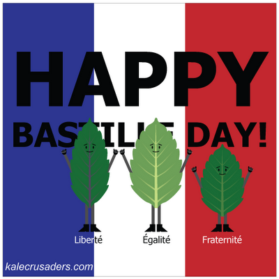 Happy Bastille / Basil Day!