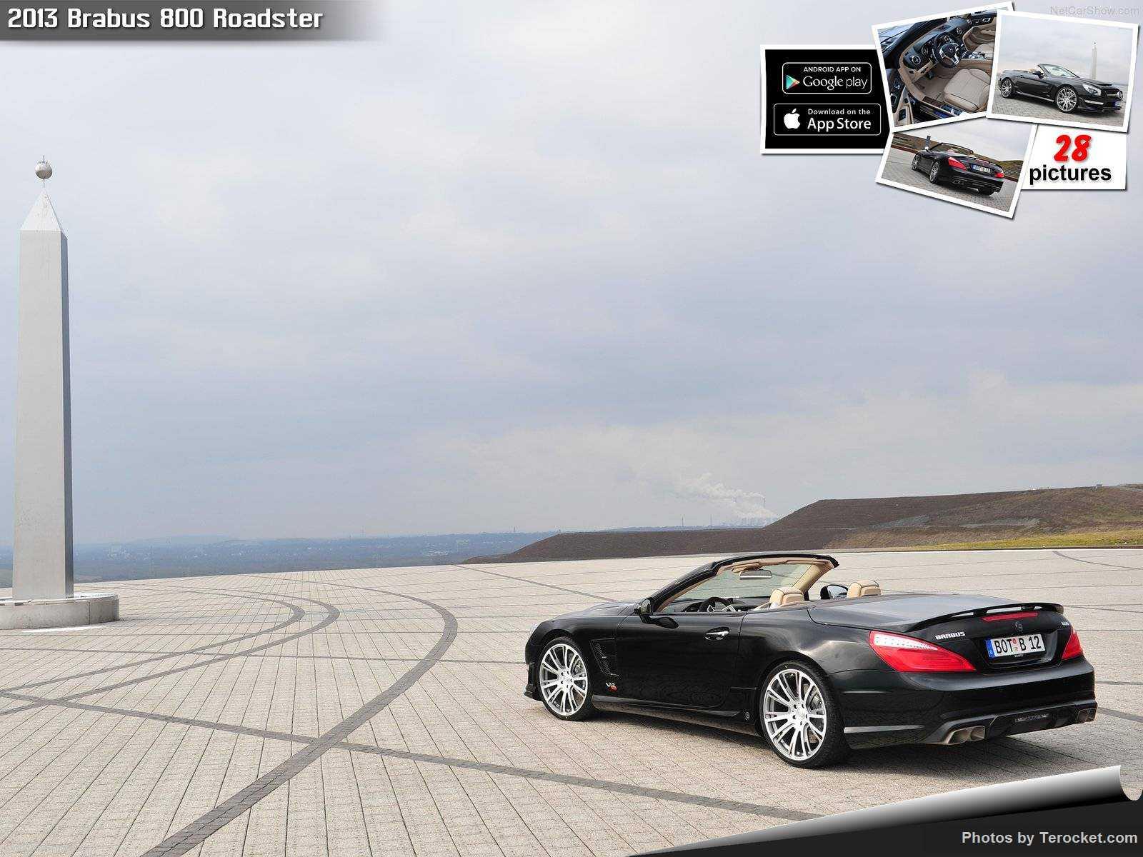 Hình ảnh xe ô tô Brabus 800 Roadster 2013 & nội ngoại thất