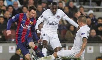 PSG vs Barcelona Champions League 15-04-2015