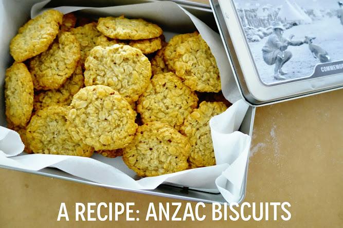 Anzac Biscuits Cookies Recipe Food Blog Donna Hay