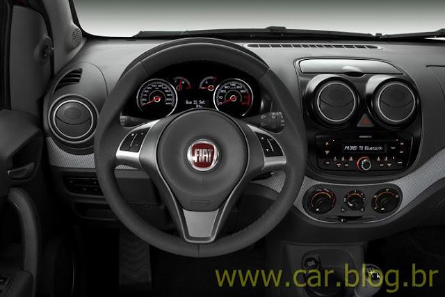 Novo Palio Attractive 1.4 2012 - posição de dirigir