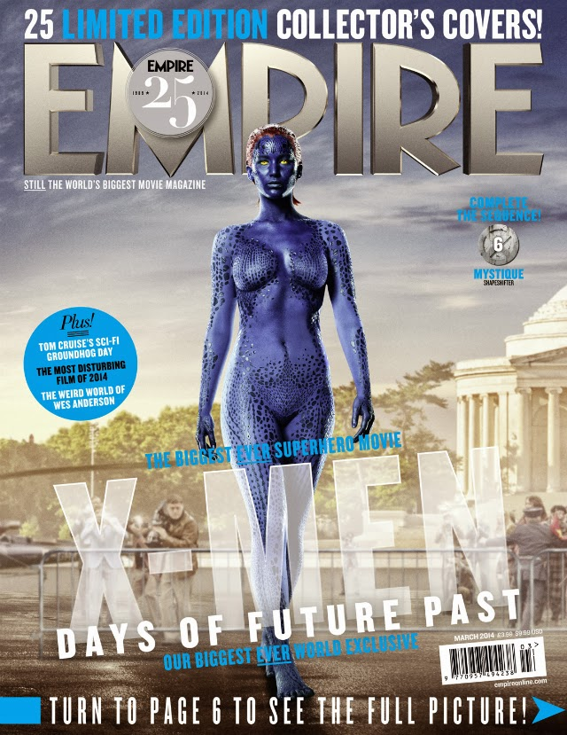 Jennifer Lawrence en EMPIRE Magazine