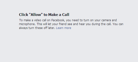 "Click ""Allow"" to Make a Call"