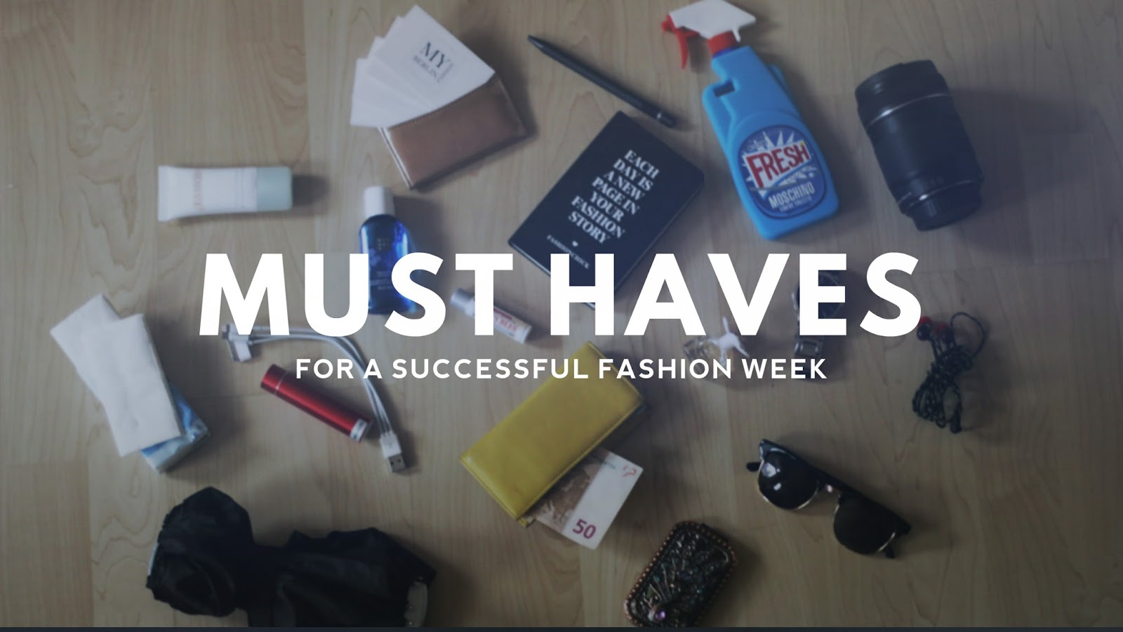 must haves fashion week photo diary
