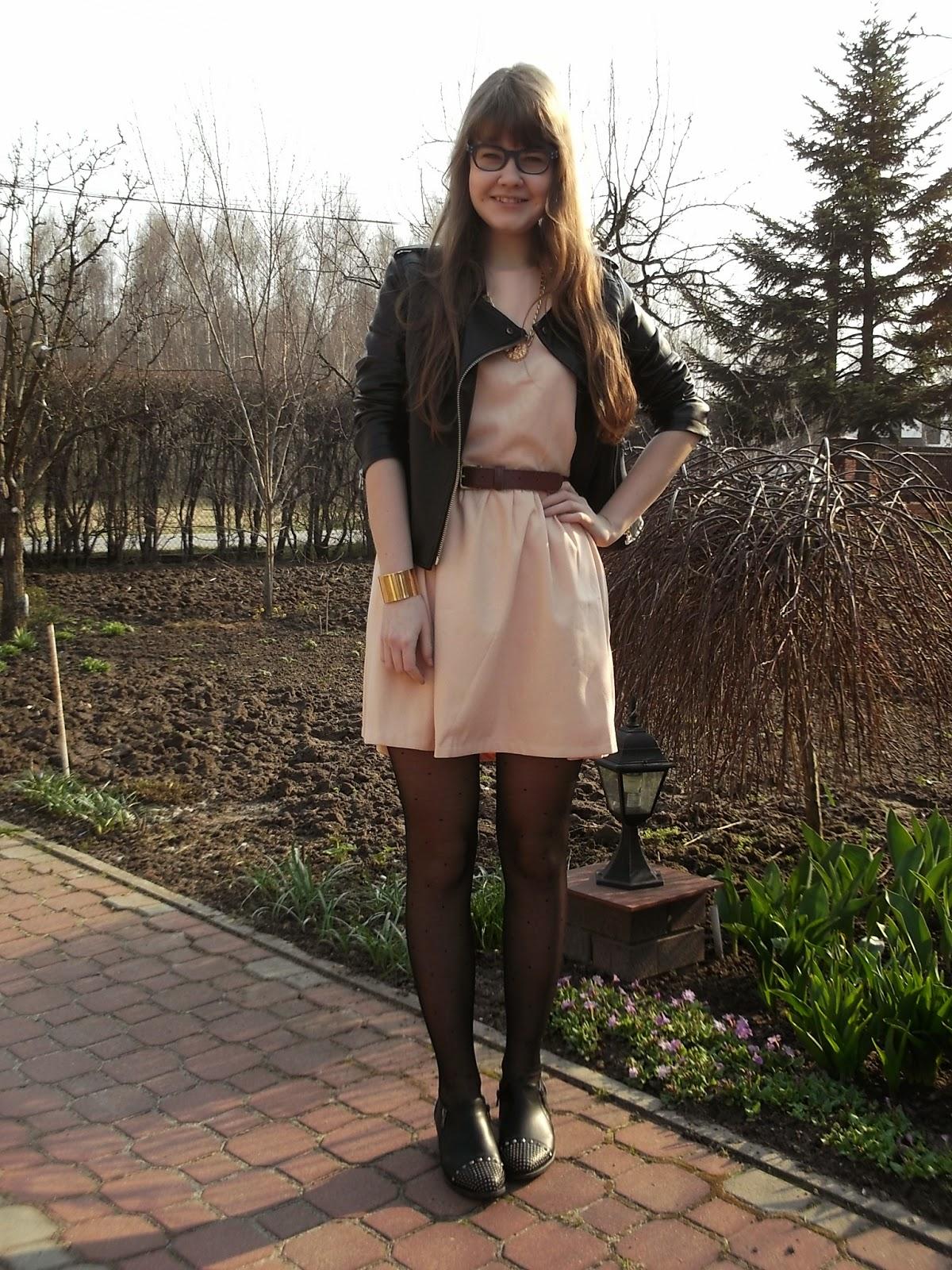 OOTD: mój sposób na pastelową sukienkę