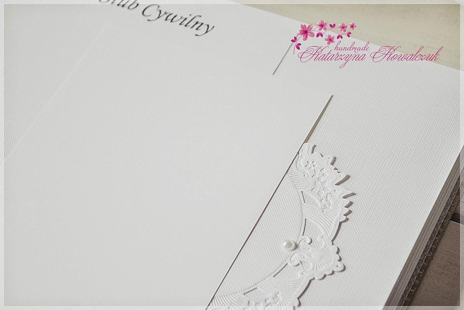 album ślubny, podziękowanie dla rodziców scrapbooking