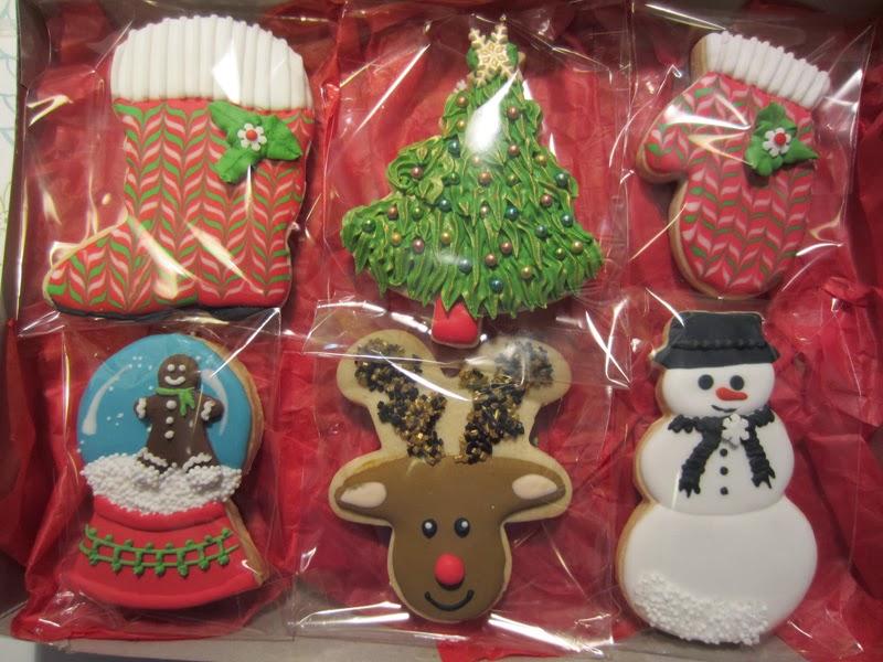 Galletas Navidad, caja regalo