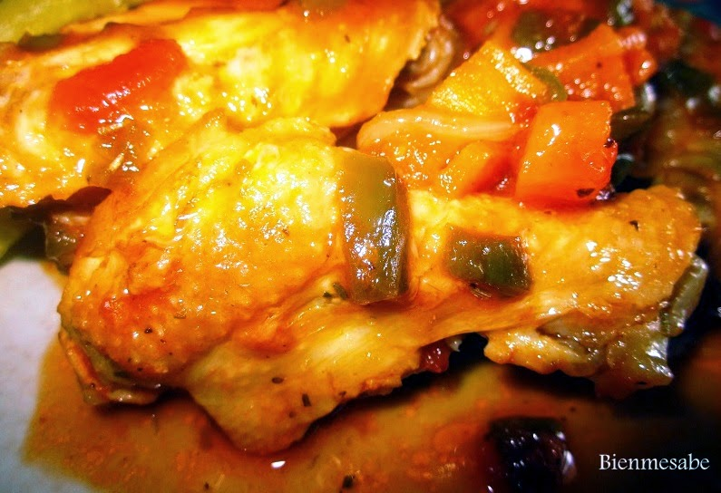 alitas de pollo con hierbas provenzales1