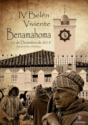 BELÉN VIVIENTE DE BENAMAHOMA 2015 - CÁDIZ