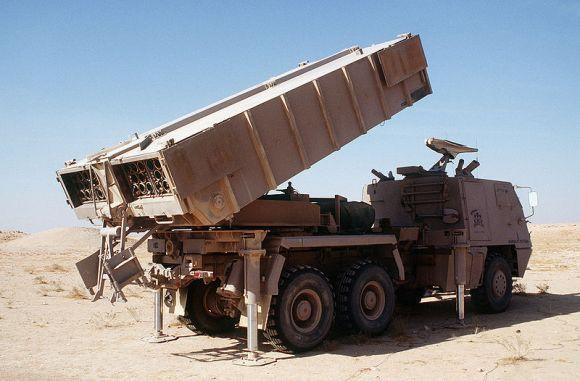 Multiple Launch Rockets System (MLRS) Astros II
