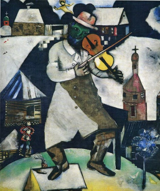 El violinista, Marc Chagall