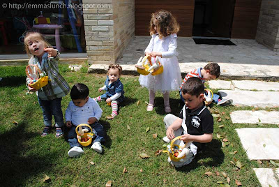 Easter Egg Hunt Full Baskets
