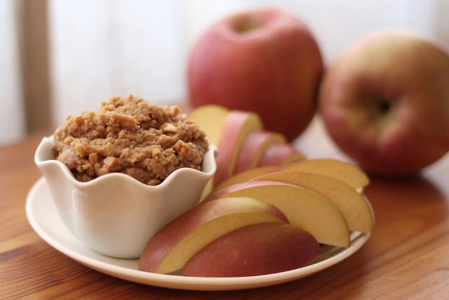 Peanut Butter Apple Dip recipe by Barefeet In The Kitchen