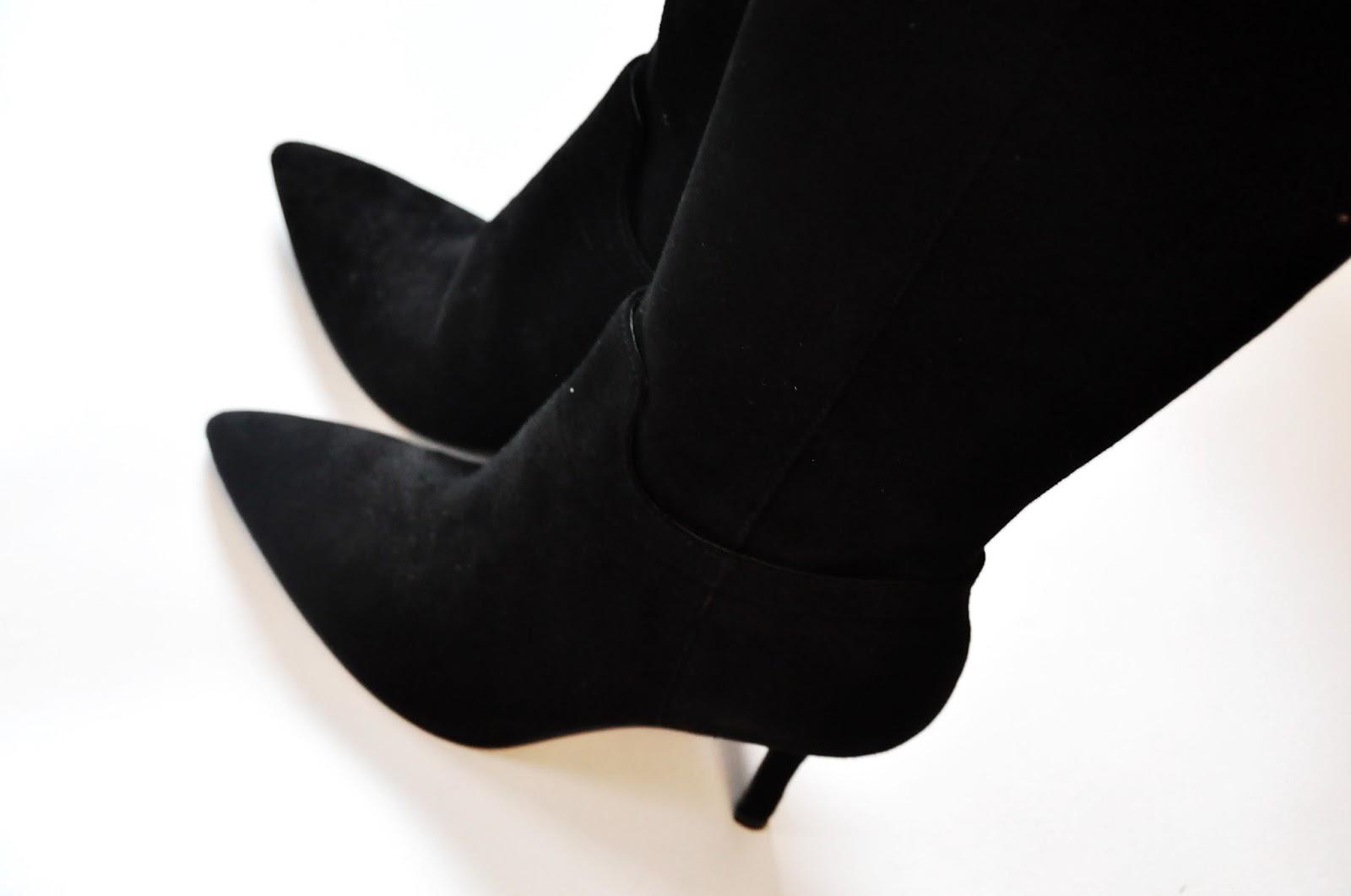 классические черные сапоги