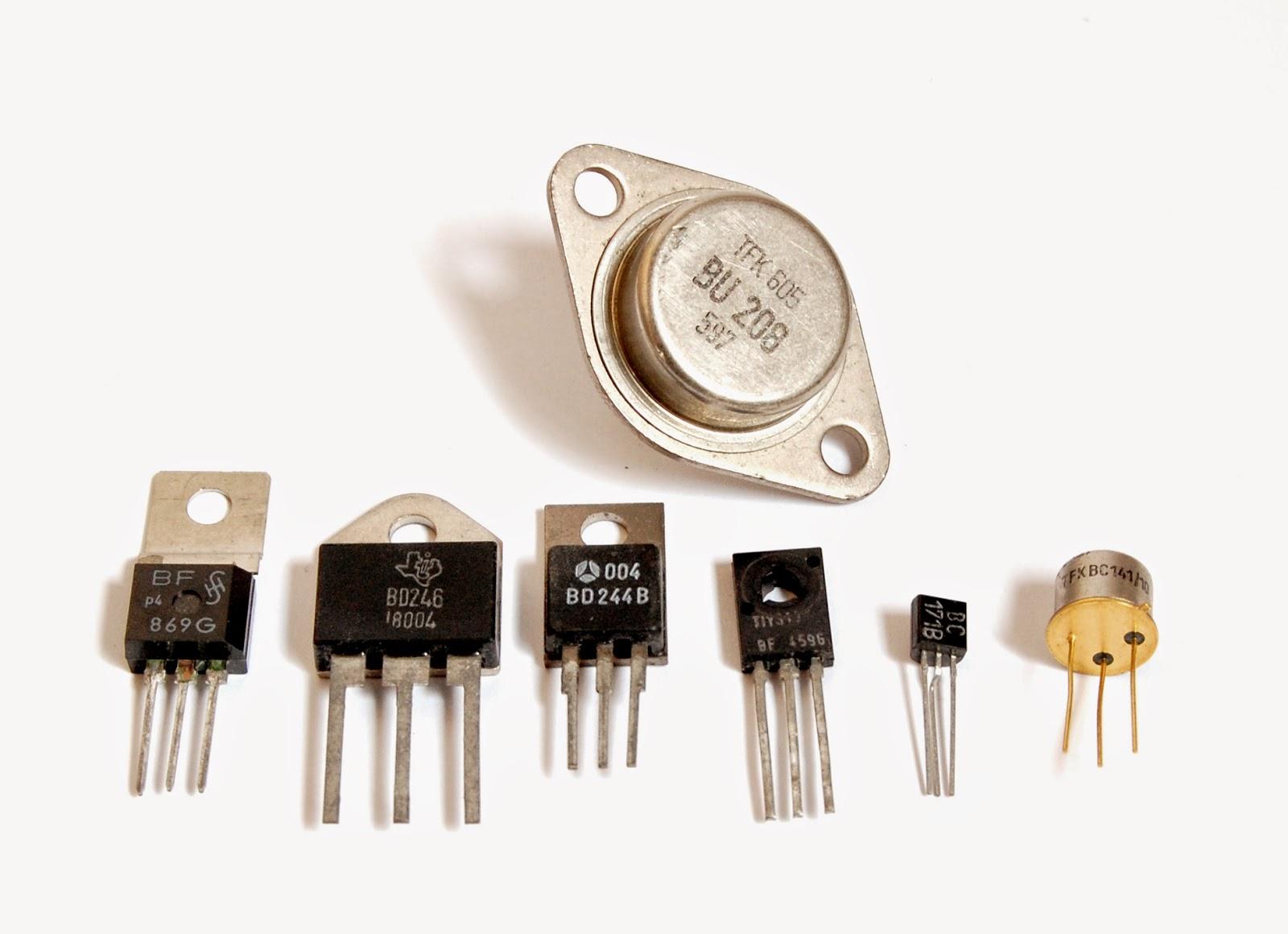 macam-macam transistor komponen elektronika