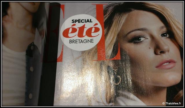 Renens edition magazine Elle spéciale Bretagne couverture Gossip Girl Serena
