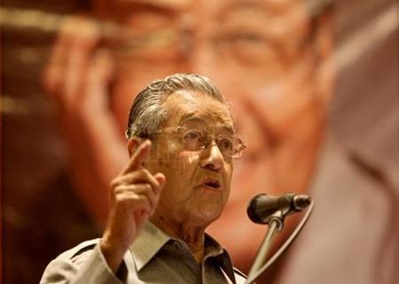 Dr Mahathir Tolak Najib