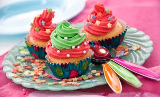 cupcake slumber birthday party food