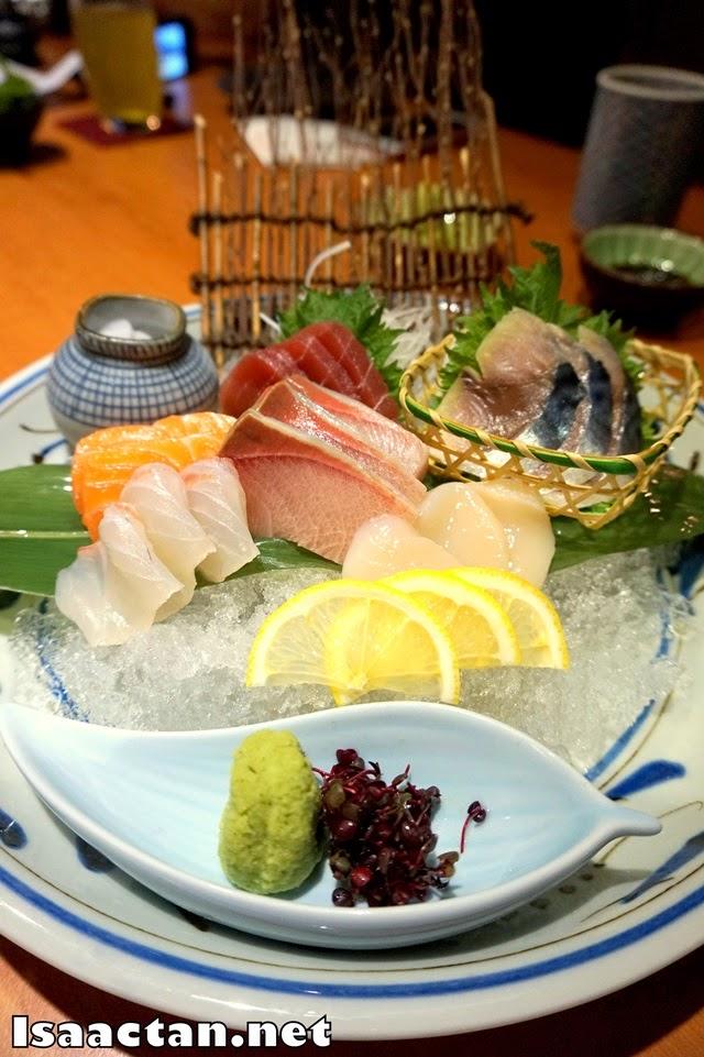 #3 Sashimi Platter - RM180