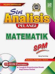 Matematik Kertas 1 Dan Jawapan Soalan Percubaaan SBP SPM 2014