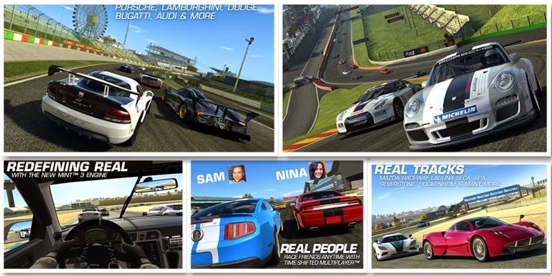 Real Racing 3 V3.2.0 Mega MOD Apk