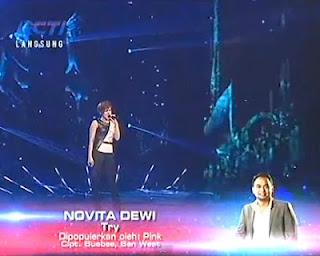 lagu novita dewi try gala show 12