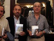 En la presentacion de su novela Marea Baja
