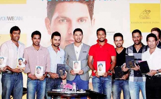 Team-India-Stars-Get-Emotional-at-Yuvraj-Singh's-Memoir-Launch