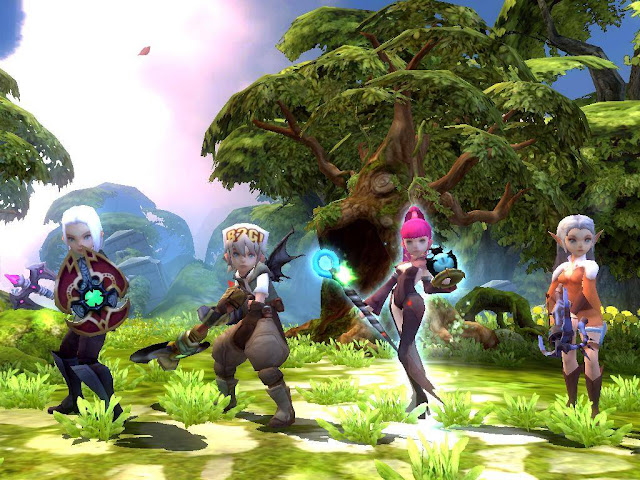 Dragon Nest Sea Character Dragon Nest Sea South East