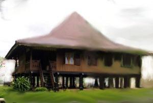 Download this Rumah Adat Bengkulu picture