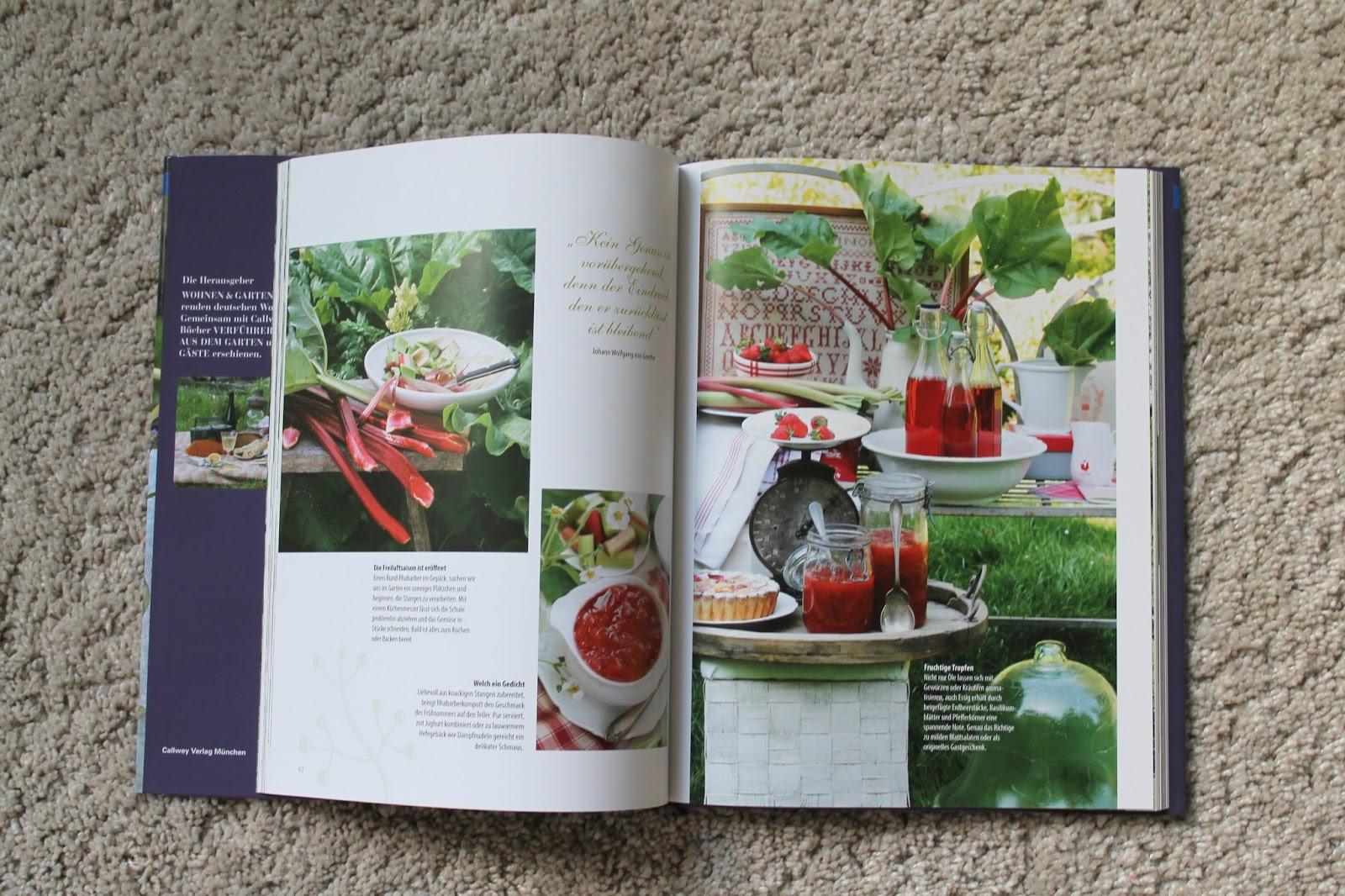 Buch Geniessen im Garten Callwey Verlag