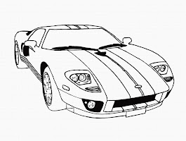 Kids Car Coloring Pages (12 Image)