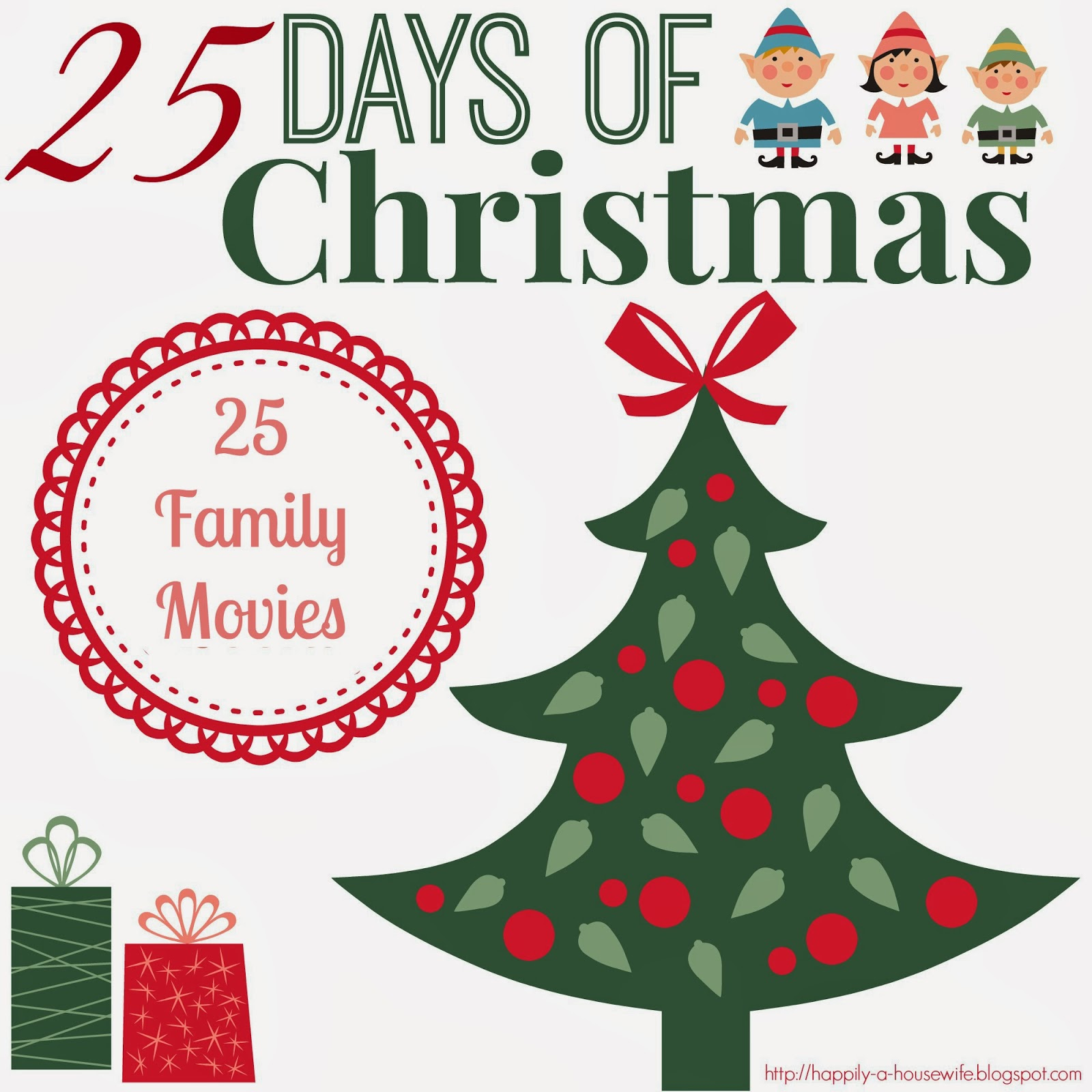 25 days of christmas 25 family movies