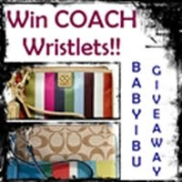 @ Win COACH Wristlets at BabyIbu